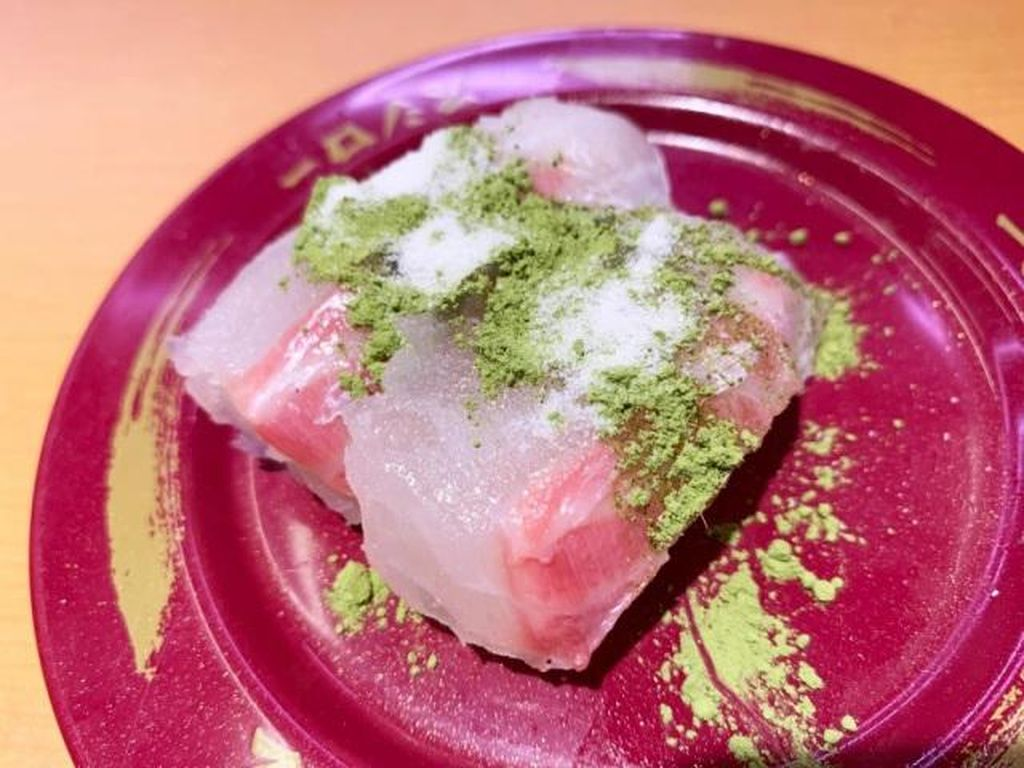 Unik! Sushi Dimakan Pakai Taburan Garam dan Bubuk Matcha