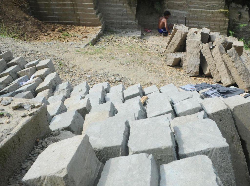 Tambang Batu Kumbung untuk Pondasi Bangunan