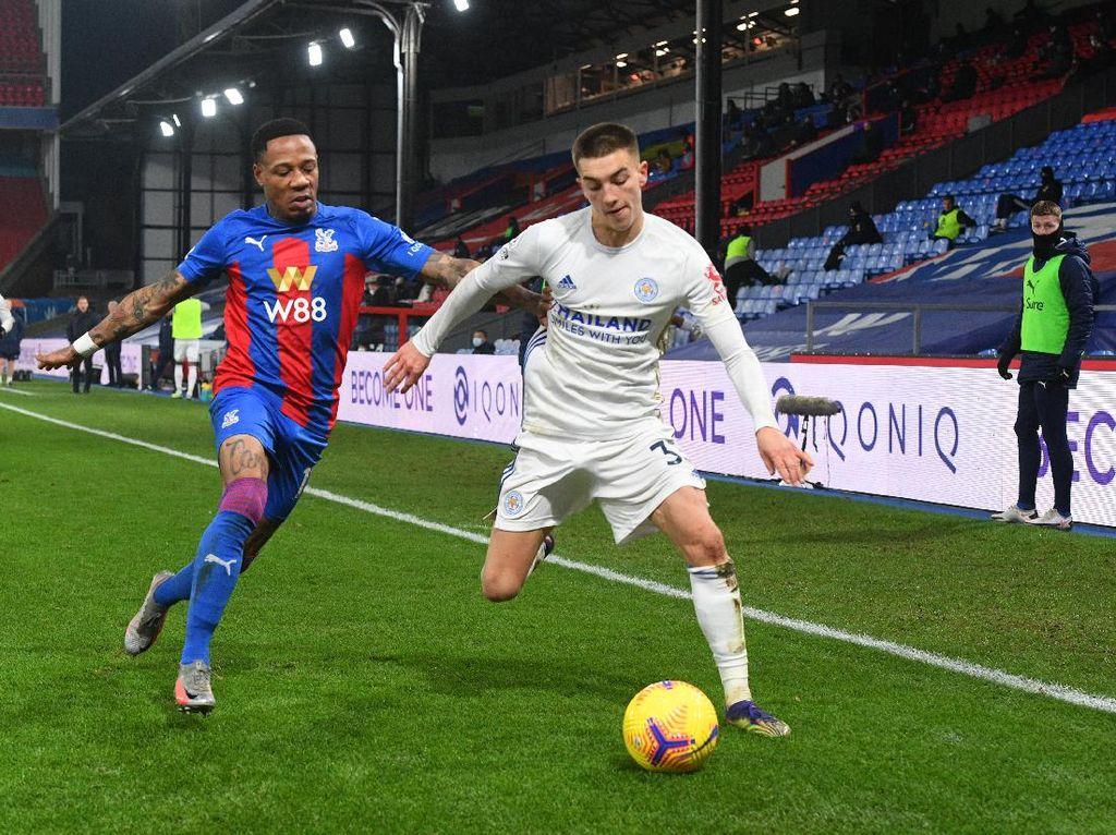 Crystal Palace Vs Leicester: Imbang 1-1, The Foxes Naik ke Posisi Kedua