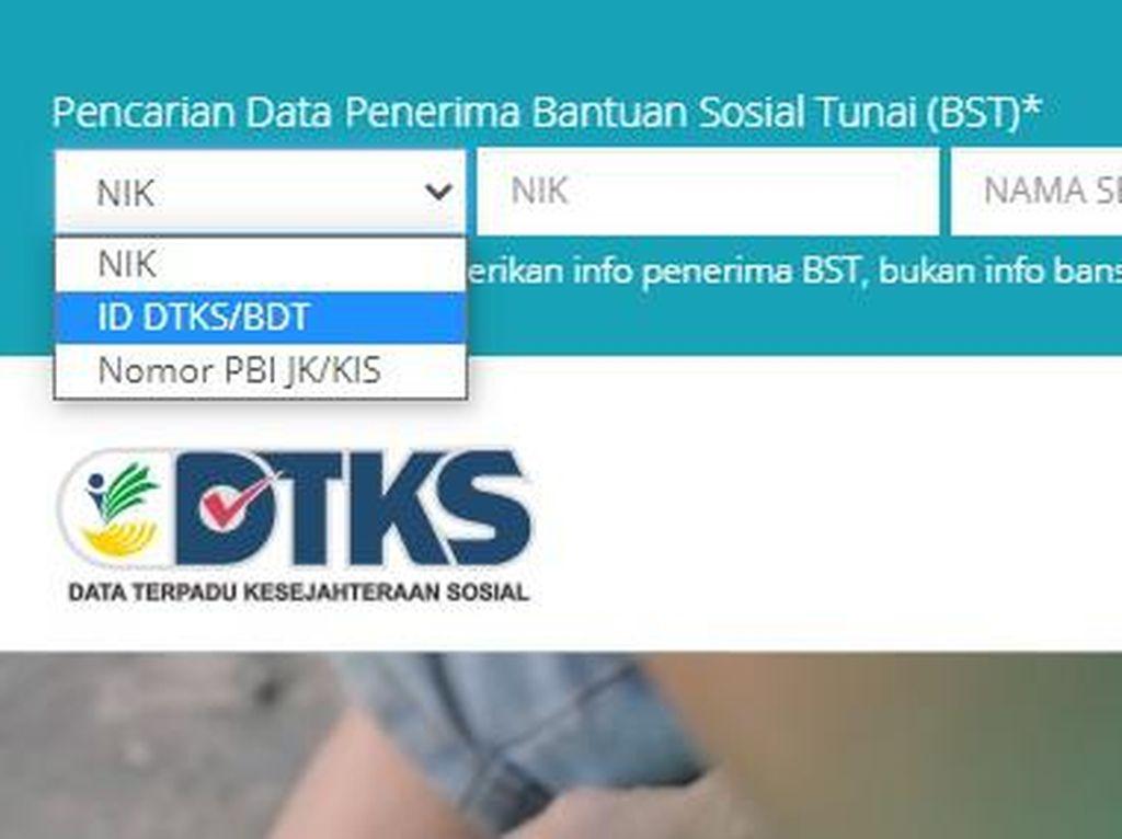 Cara Daftar dtks.kemensos.go.id