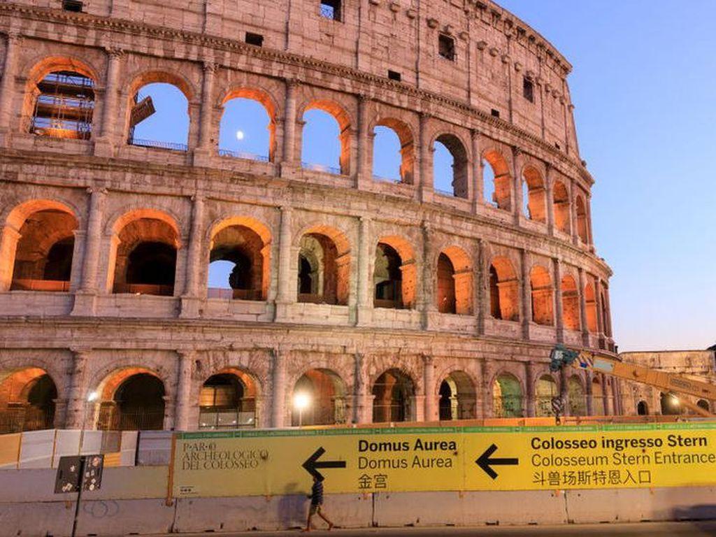 Italia Mencari Pakar untuk Merekonstruksi Lantai Colosseum di Roma