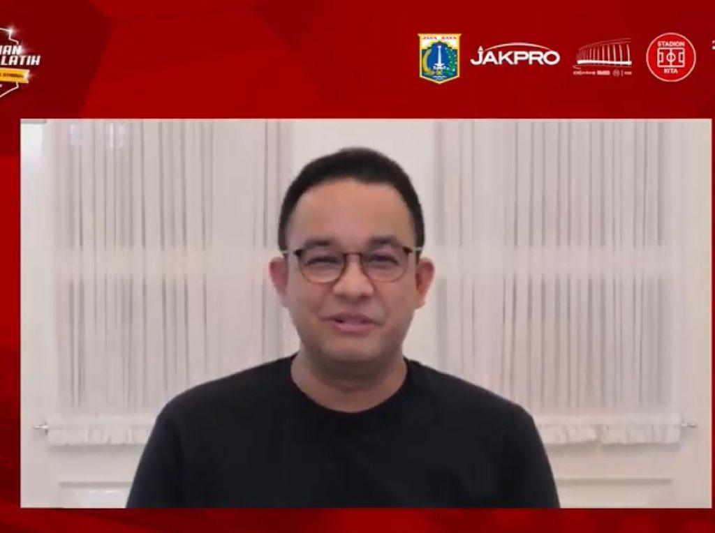 Resmikan Lapangan Latihan JIS, Anies Baswedan Banggakan Satu Hal