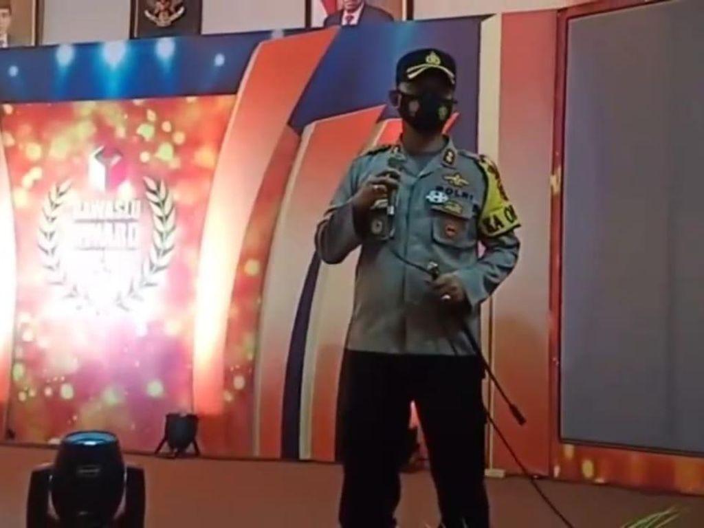 Bawaslu Award di Gorontalo Dibubarkan Polisi Gegara Langgar Prokes!