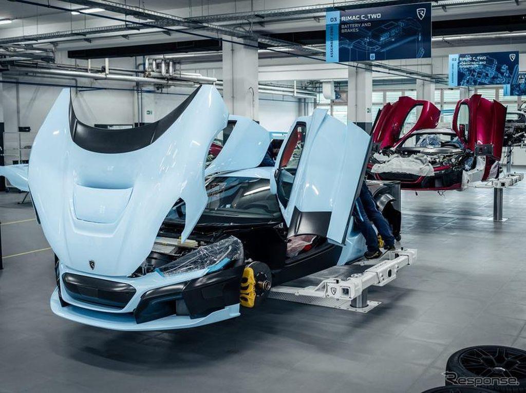 Mobil Listrik Bertenaga 1.914 dk Mulai Diproduksi, Siap Dirilis Tahun Depan