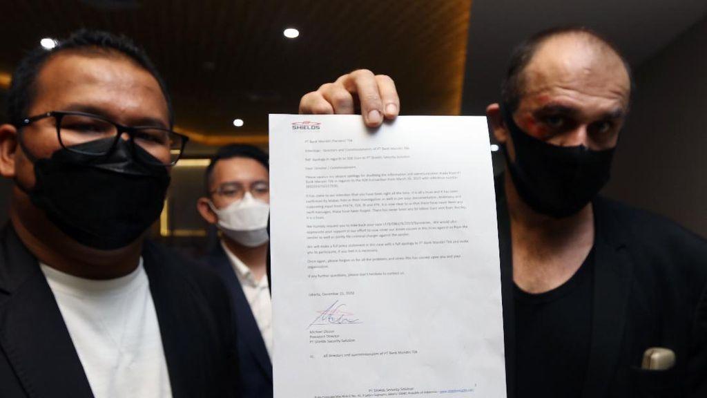 Pelaku Hoax Bank Mandiri Minta Maaf