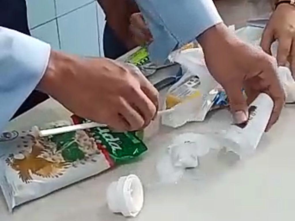 Dua Pembesuk Rutan Ponorogo Diamankan Selundupkan Sabu dalam Deodoran