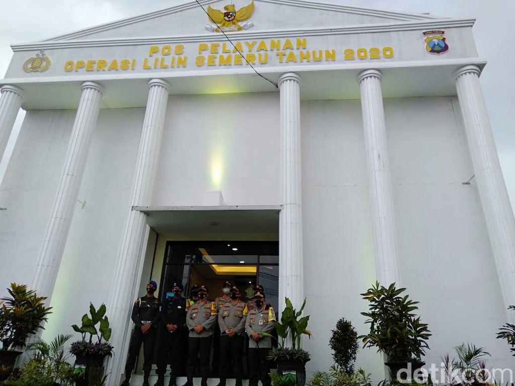 Pos Pelayanan Operas Lilin Karanglo Malang Mirip Istana Negara