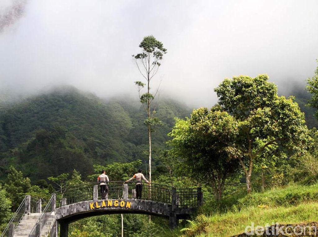 Potret Kawasan Wisata Bukit Klangon yang Masih Tutup