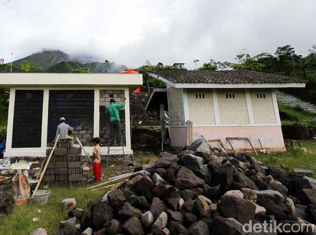 Sejumlah Fasilitas Bukit Klangon Diperbaiki