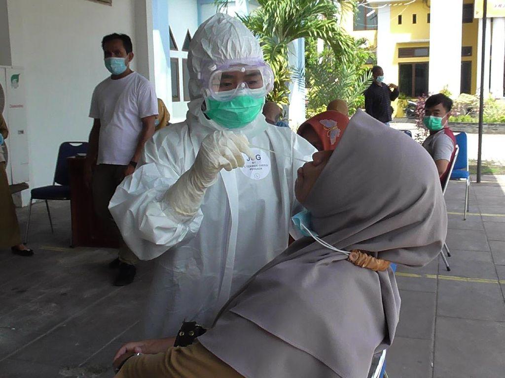 Ada Pejabat Positif COVID, 73 ASN Pemprov Gorontalo Jalani Tes Swab