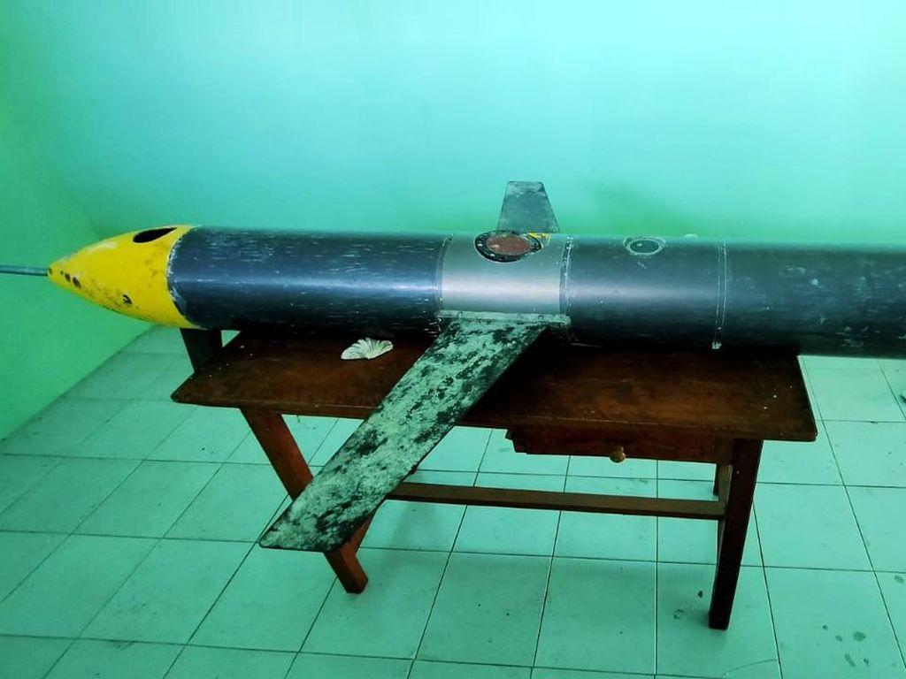 Koramil Sudah Serahkan Benda Diduga Drone di Laut Selayar ke TNI AL