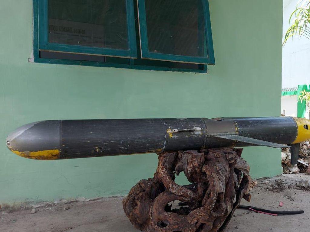 Cerita Nelayan Temukan Benda Mirip Rudal Terpasang Kamera di Laut Selayar