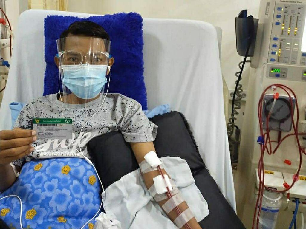 Cuci Darah 2 Kali Seminggu, Pria di Bandar Lampung Terbantu JKN-KIS