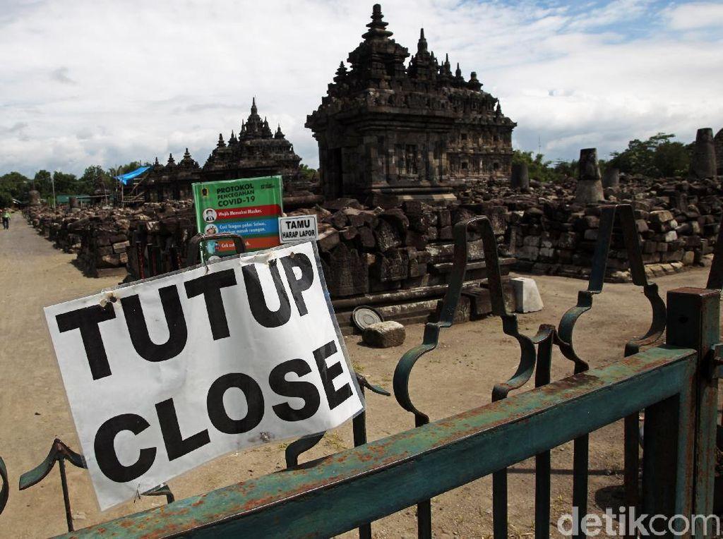 Jateng di Rumah Saja, Candi Plaosan dan Sojiwan Tutup untuk Wisatawan