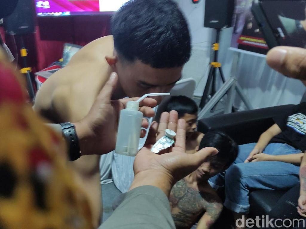Ditangkap Polisi, 3 Anggota Geng Motor Cianjur Positif Sabu