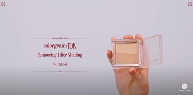 Lee Suhyun memakai Cologram : TOK Countouring Filter Shading sebagai produk make up untuk menyambut liburan.