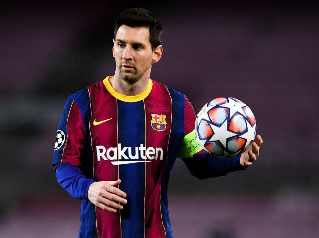 Kekecewaan Messi Nonton Barcelona