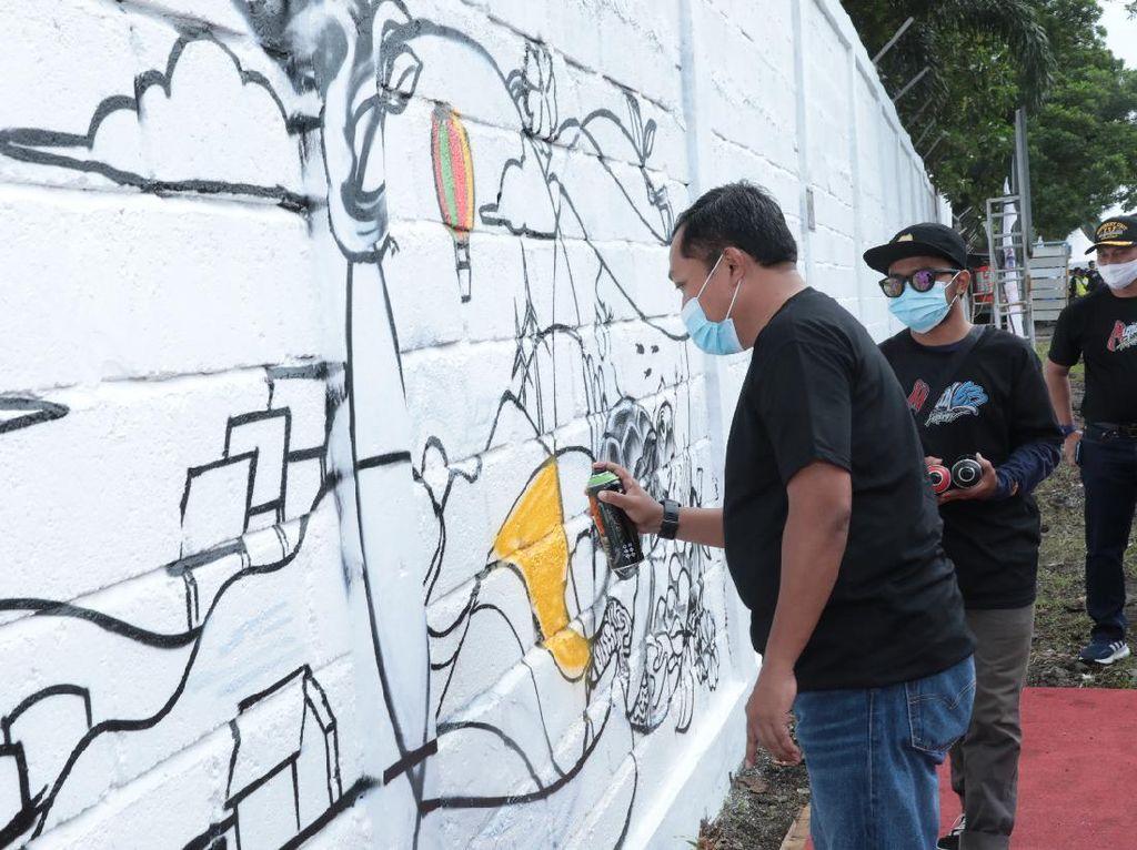 Pertamina Gelar Lomba Seni Mural di Cilacap, Ini Daftar Juaranya