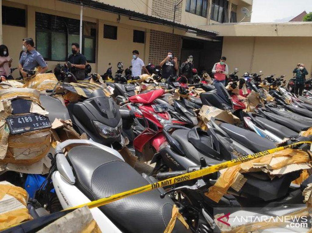 Untuk Korban Curanmor, di Polsek Pulogadung Ada 40 Motor Sitaan yang Belum Diambil