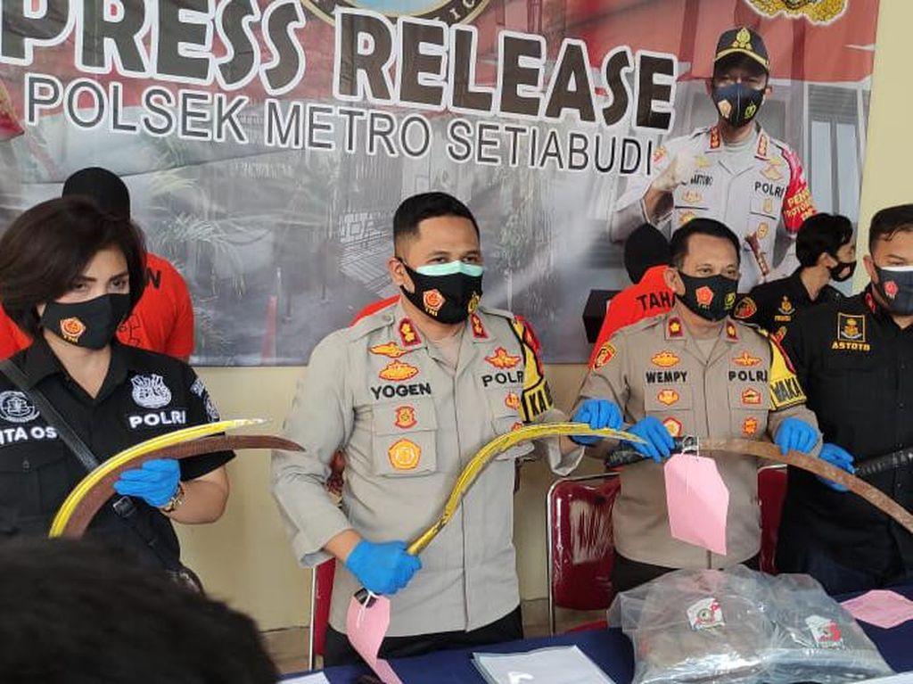 Tawuran di Setiabudi Jaksel Telan Korban Jiwa, 3 Pelaku Ditangkap