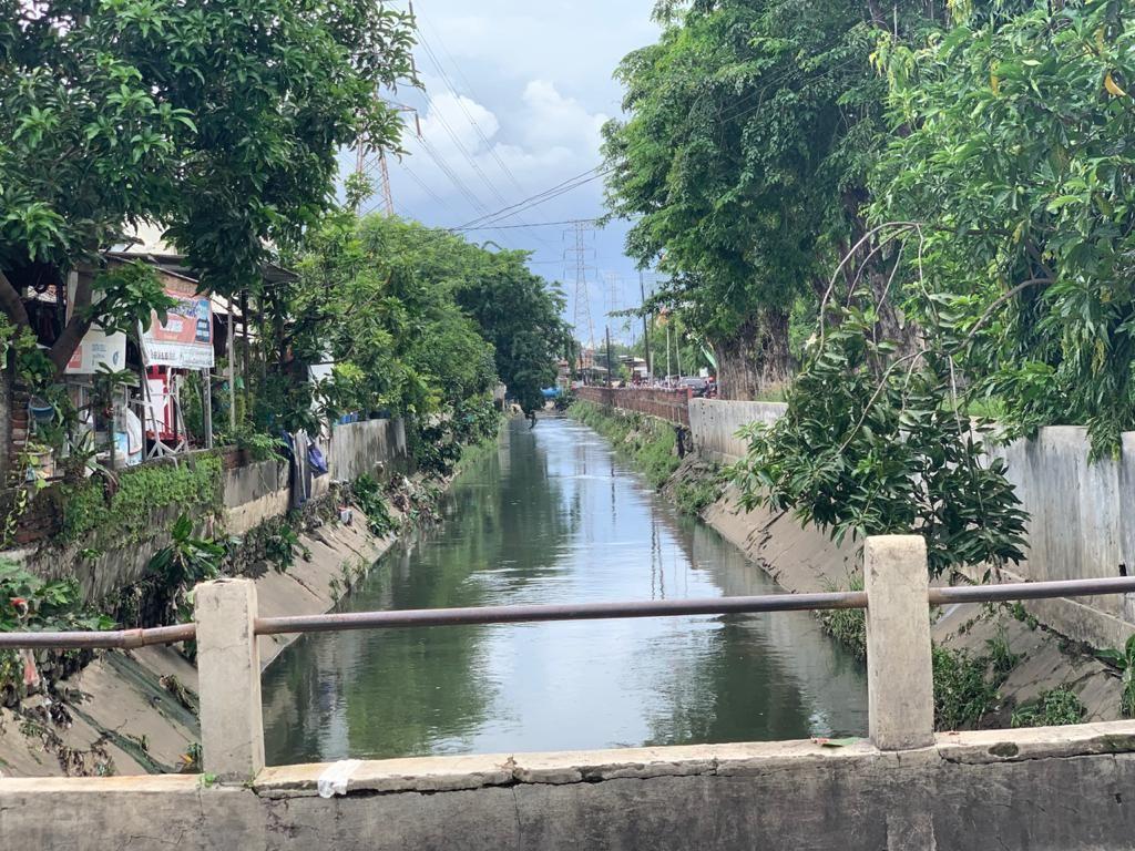 Sampah Sempat Penuhi Sungai di Surabaya Usai Banjir, Kini Sudah Kinclong