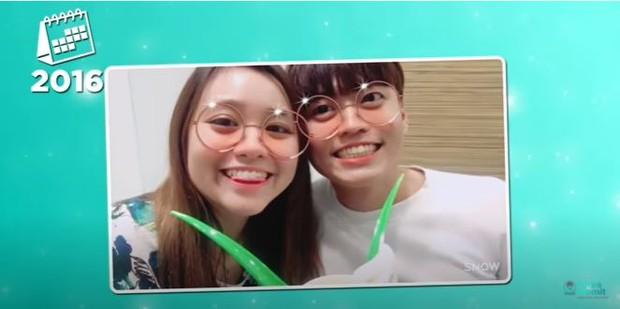 Foto pertama kali jang han sol bertemu kekasihnya