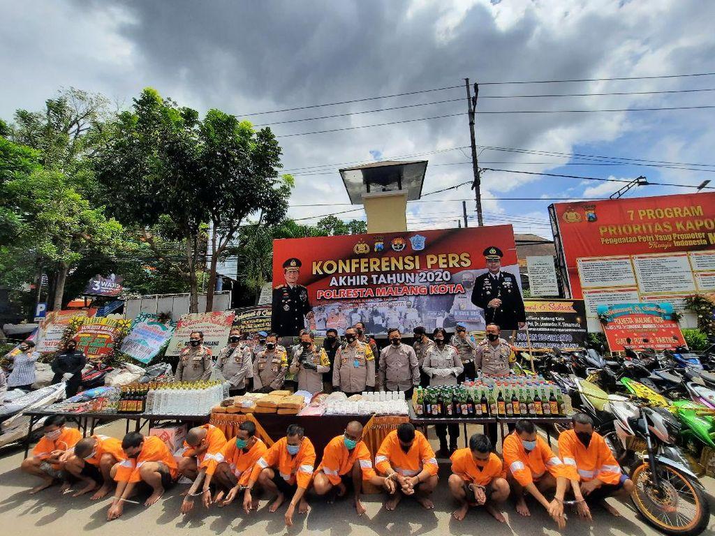 Kasus Curanmor Mendominasi Kota Malang Tahun 2020