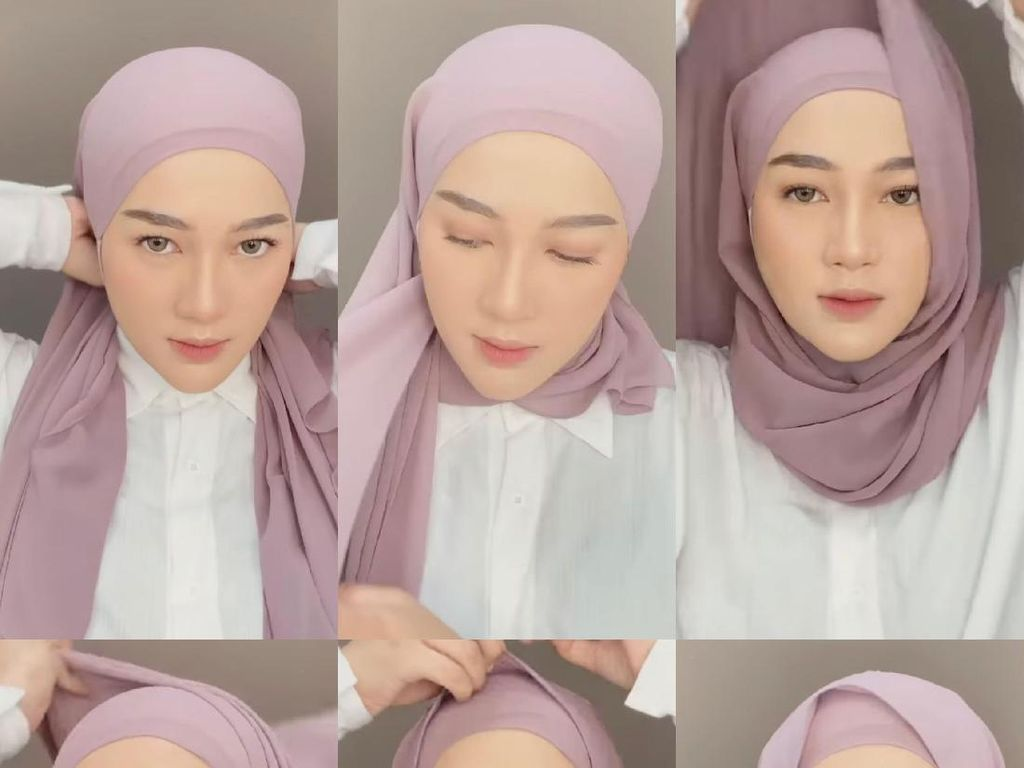 5 Tutorial Hijab Pashmina hingga Segi Empat yang Paling Hits di 2020