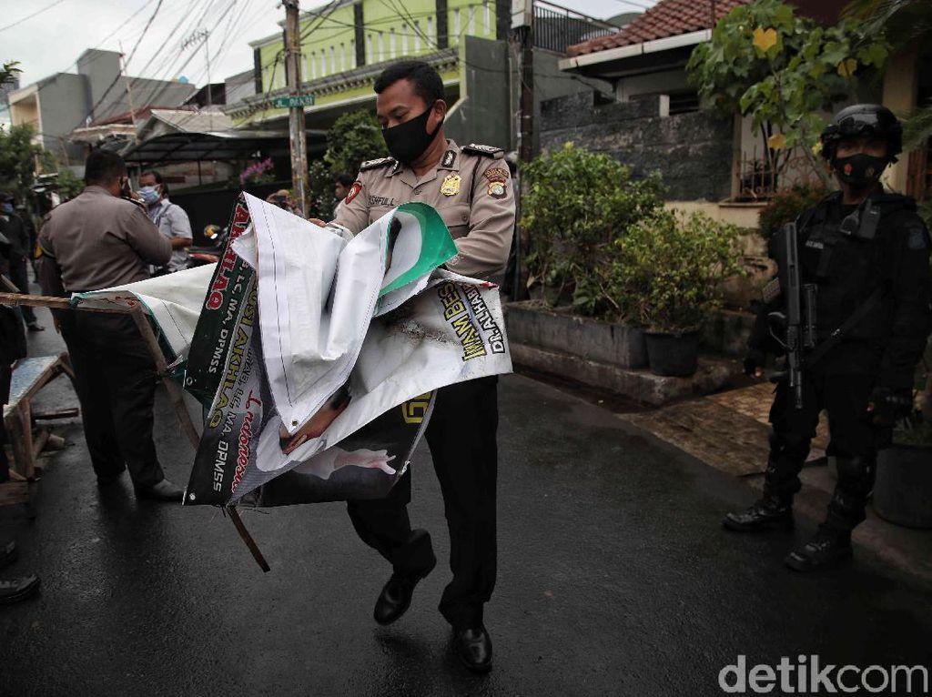 Kapolri: Penertiban Atribut FPI Dilakukan Satpol PP Didukung TNI-Polri