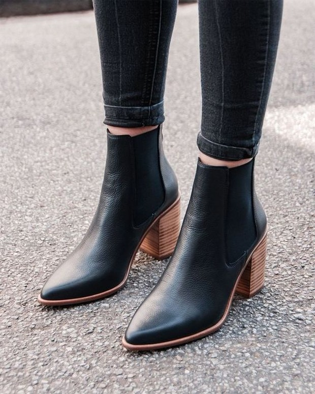 ankle boots heels