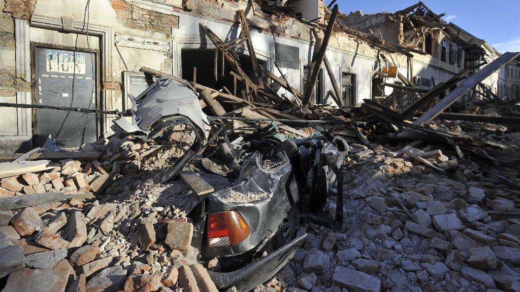 Begini Dampak Akibat Gempa di Kroasia
