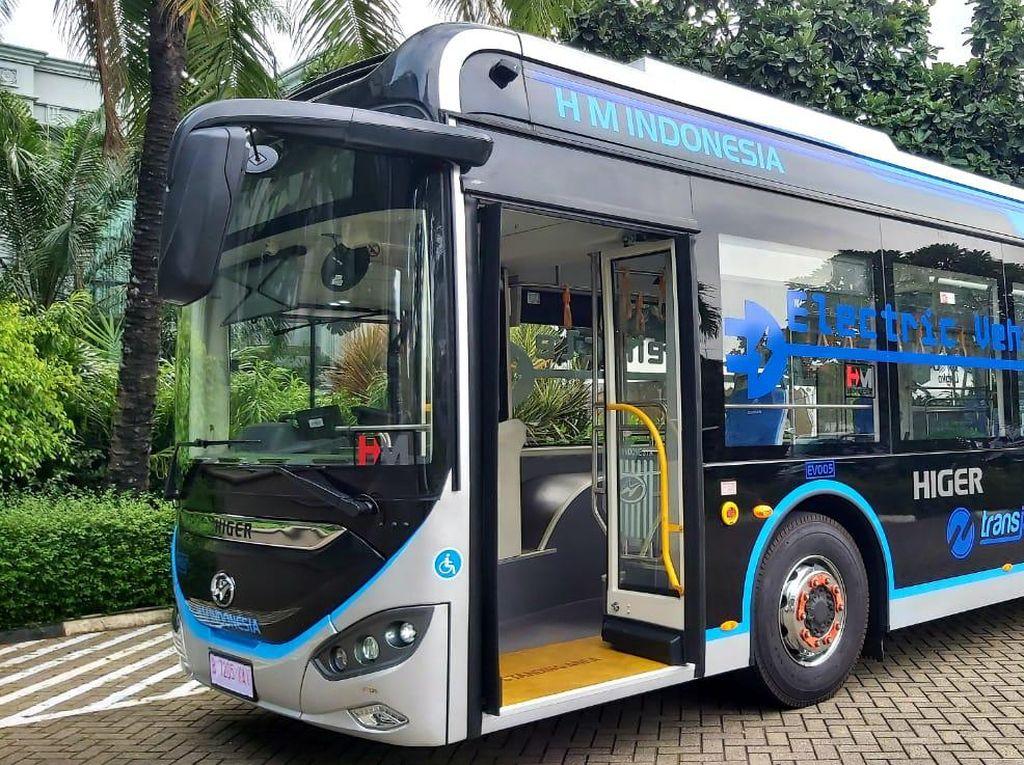 Mengintip Kecanggihan Higer, Bus Listrik TransJakarta Berdaya 385 Kwh