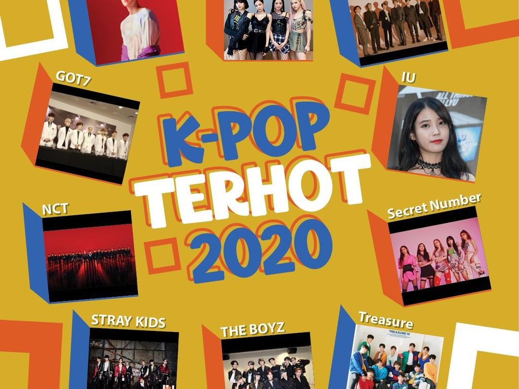 10 K-Pop Terhot 2020