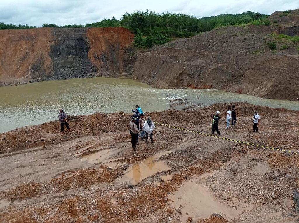 DLH Kalsel Sidak Tambang Batu Bara Ilegal yang Cemari Sungai Mangkauk