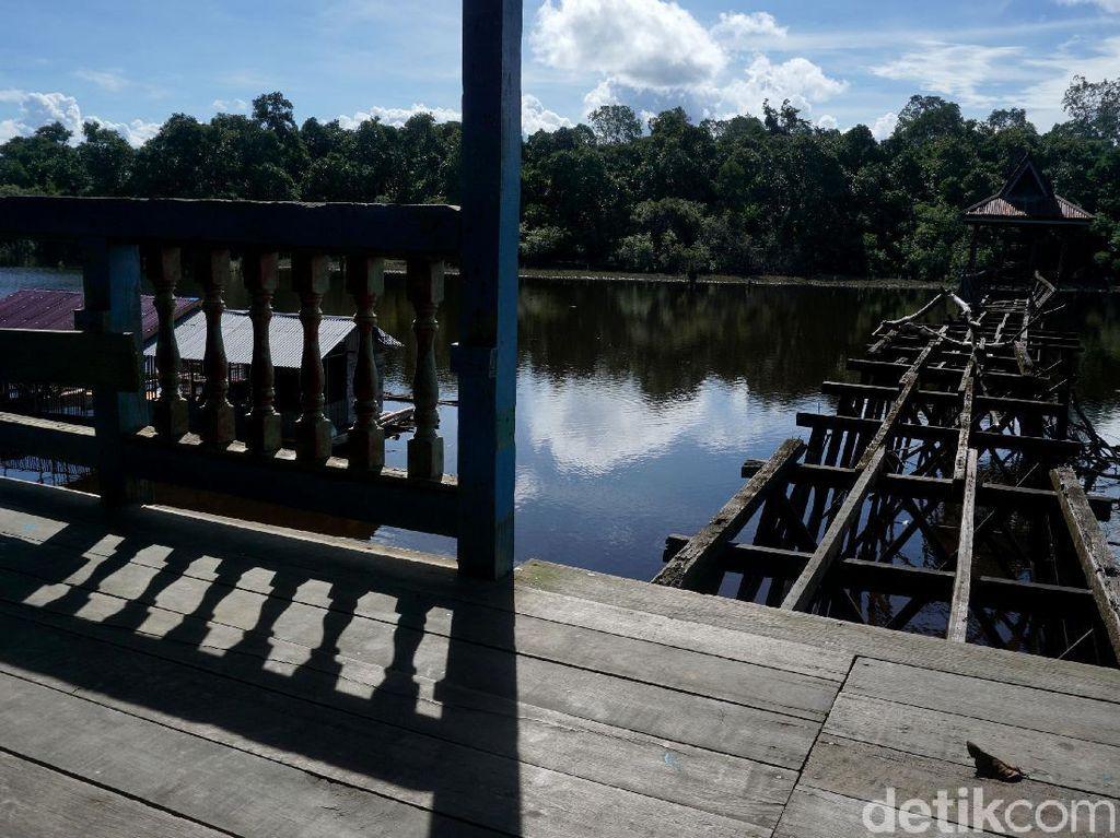 Foto: Danau Buak yang Tak Terawat