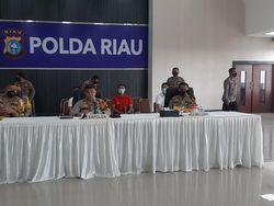 Polda Riau Sanksi 239 Personel Sepanjang 2020, 7 Orang Dipecat