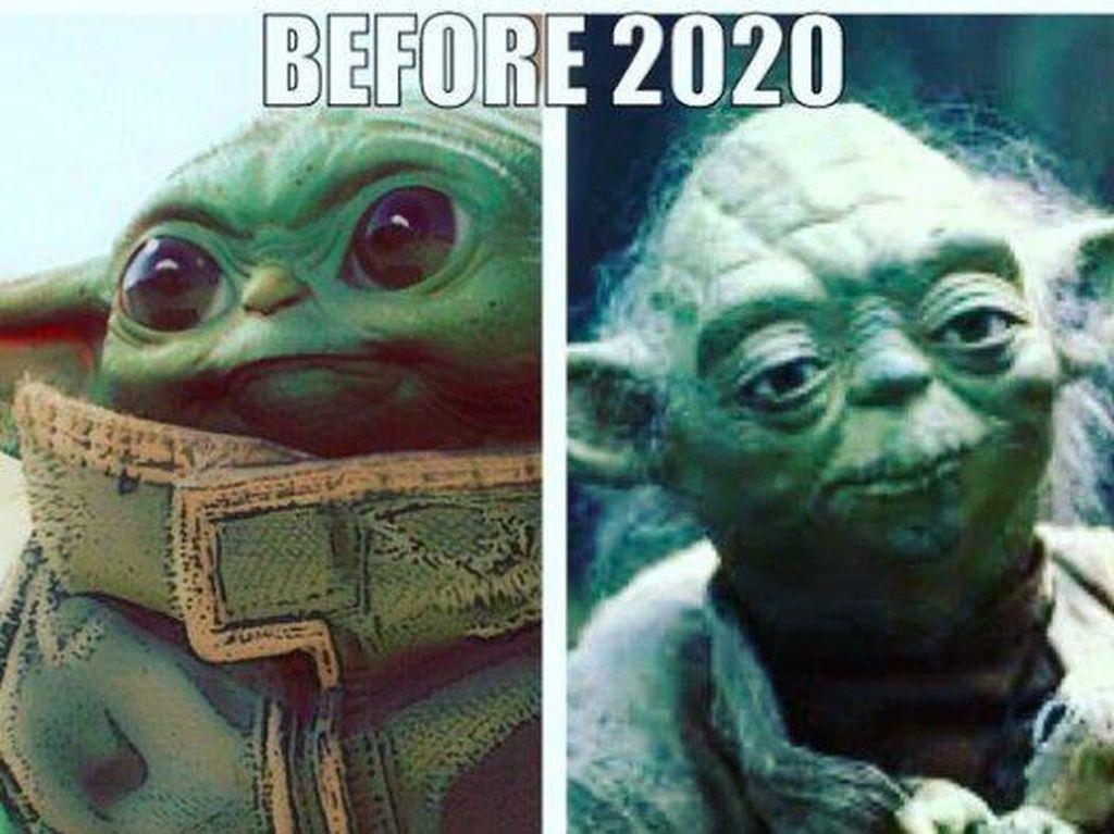 Aneka Meme yang Gambarkan Suramnya Tahun 2020