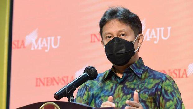 Menkes Budi Gunadi Sadikin memberikan keterangan  soal vaksin, Selasa (29/12) / FOTO: Rusman-Biro Setpres