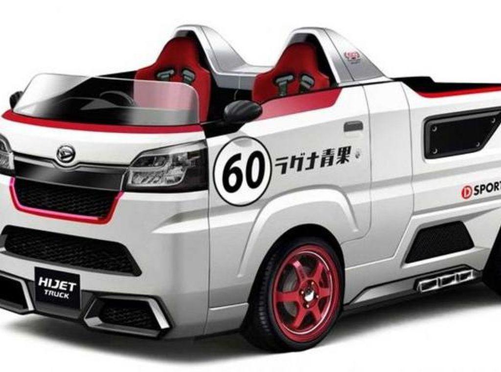 Pikap Daihatsu Hijet Dibikin Roadster, Ini 5 Mobil Modif Keren