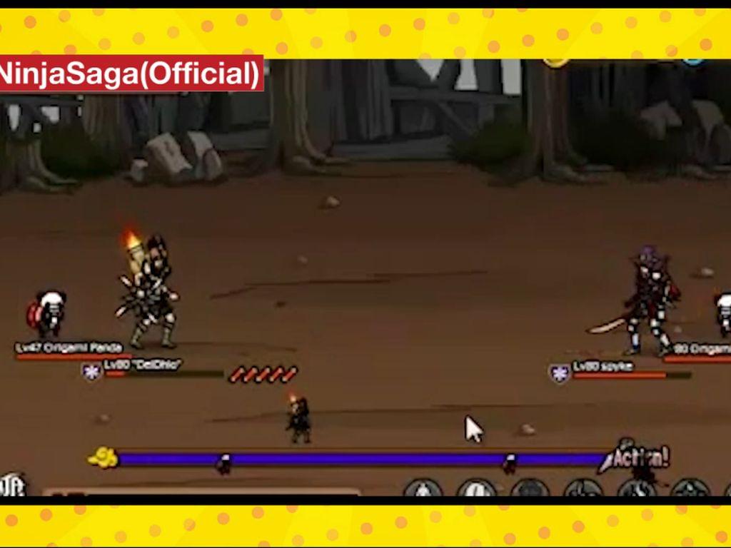Ninja Saga Pamit dari Facebook