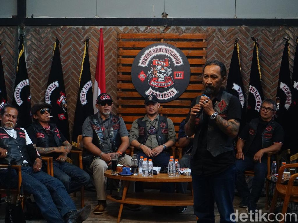Pegi Diar Terpilih Lagi Sebagai El Presidente Bikers Brotherhood 1% MC Indonesia