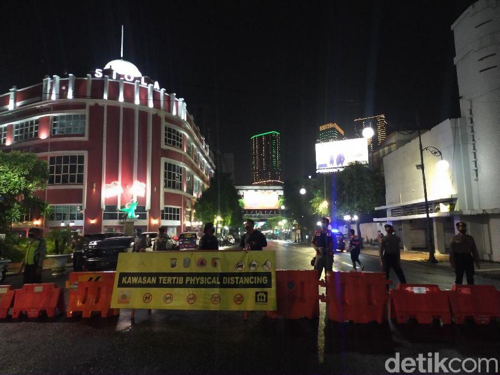 Pengamanan Malam Tahun Baru di Surabaya, Jalan Darmo dan Tunjungan Ditutup