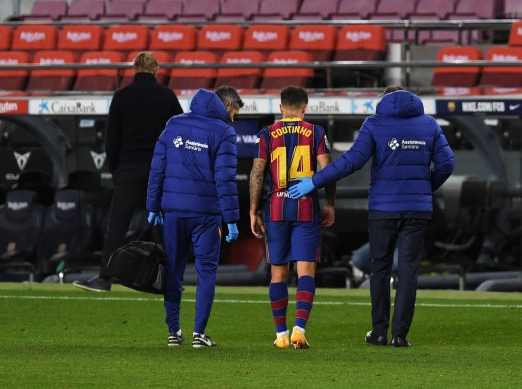 Barcelona Diterpa Badai Cedera, 14 Pemain Sudah Jadi Korban