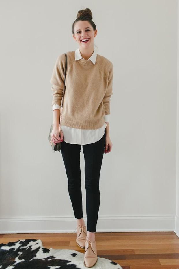 Celana plonte adalah lambang dari gaya kasual, cenderung terkesan seperti legging.