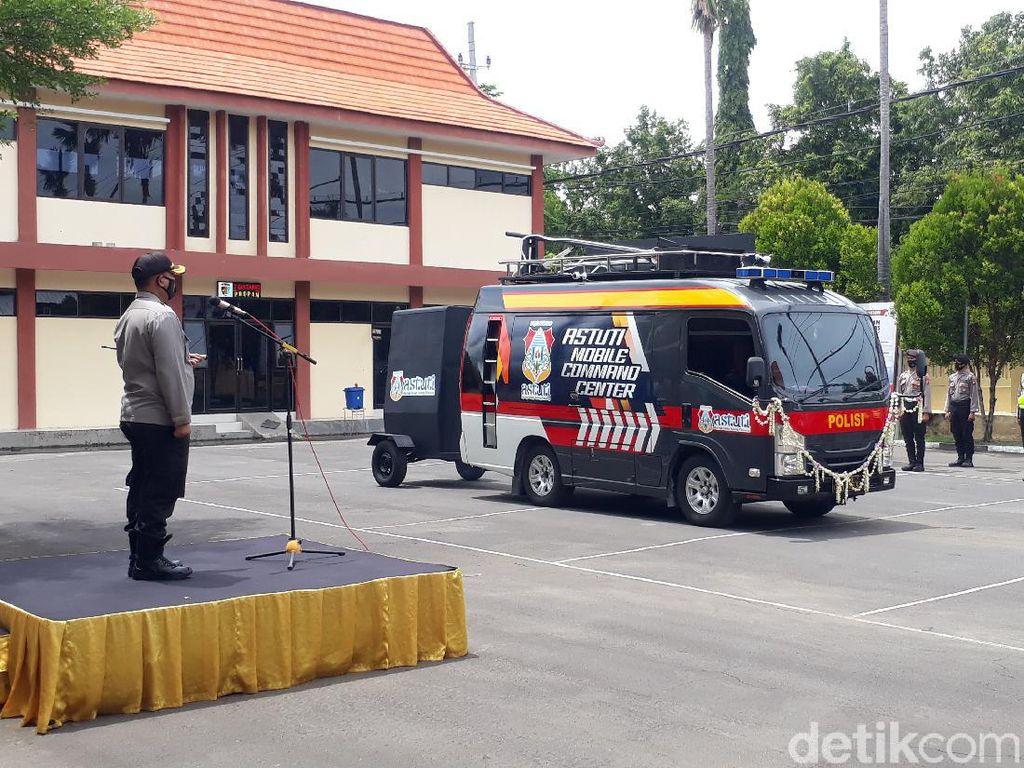 Polisi Bojonegoro Luncurkan Astuti Mobile Command Center