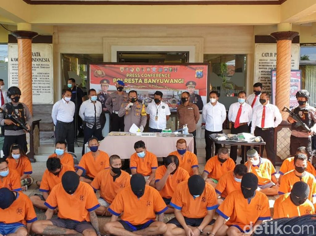 Tren Kejahatan di Banyuwangi Naik, Polisi Juga Tingkatkan Penyelesaian Kasus