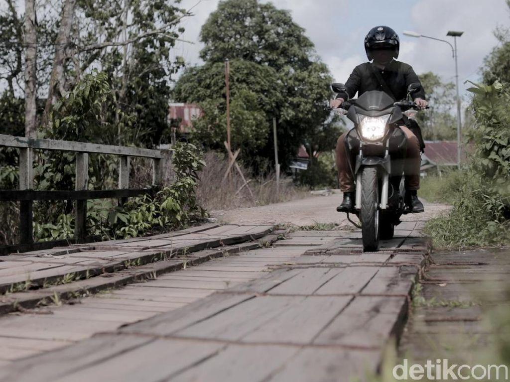 Potret Perjuangan RM Kredit BRI di Batas Indonesia-Malaysia