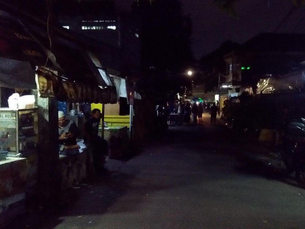 Begini Suasana Petamburan Usai Brimob-TNI Copot Spanduk FPI