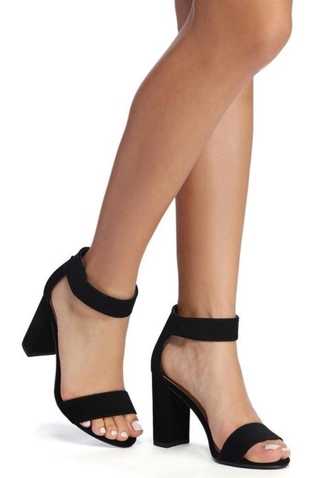 wide fit heels