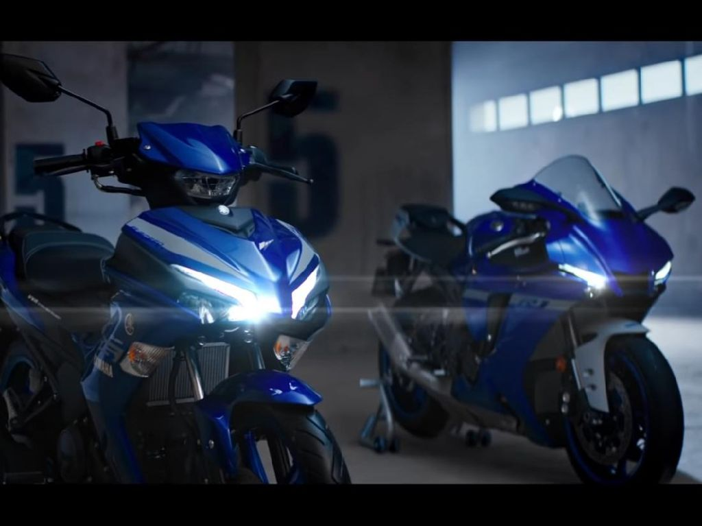 Yamaha MX King 155 VVA Dirilis, Tampang Mirip Moge, Pakai Mesin R15